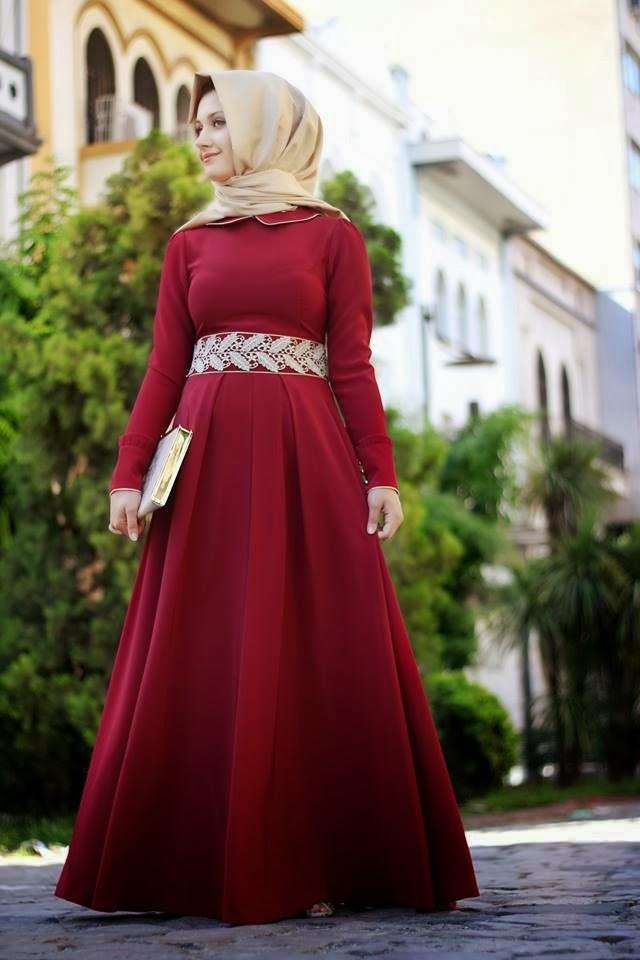بالصور فساتين سهرة حمراء , شاهد شياكة الفستان الاحمر 10986 6