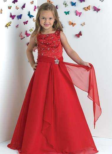 بالصور فساتين سهرة حمراء , شاهد شياكة الفستان الاحمر 10986 8