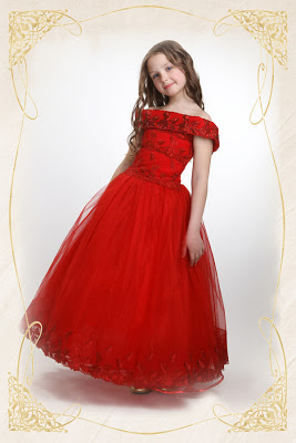 بالصور فساتين سهرة حمراء , شاهد شياكة الفستان الاحمر 10986 9