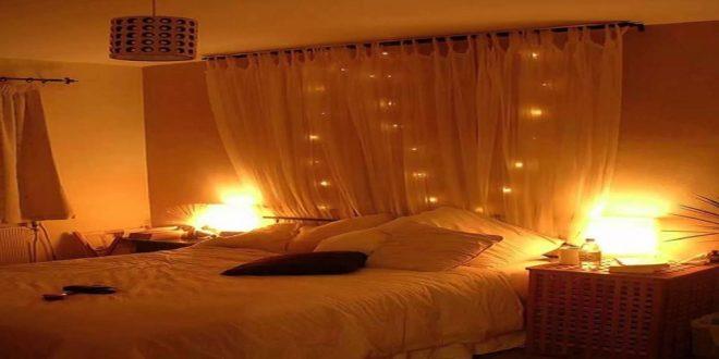 صورة غرف نوم رومانسية بالصور , افضل غرف مناسبة للراحه