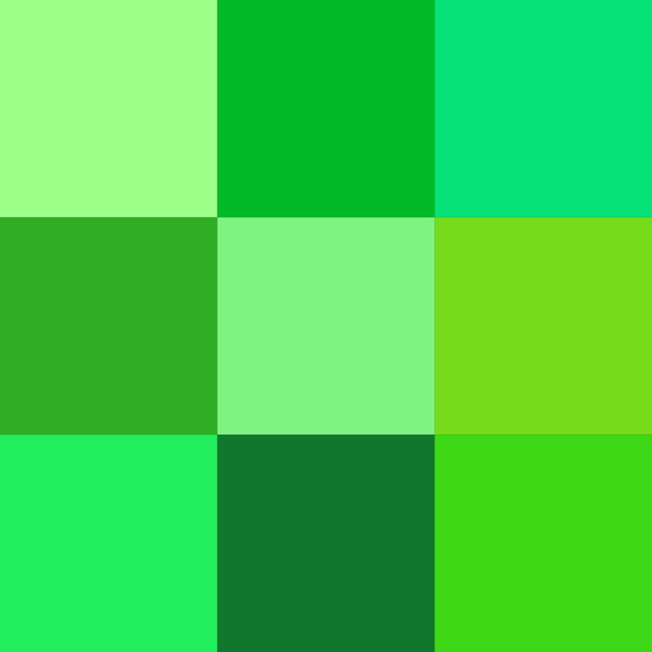 صورة اسماء درجات اللون الاخضر , معرفة اقسام واسماء اللون الاخضر