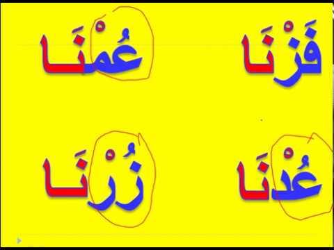 صورة كلمات بها مد بالالف , مجموعة من الكلمات العربية يظهر بها المد بالالف