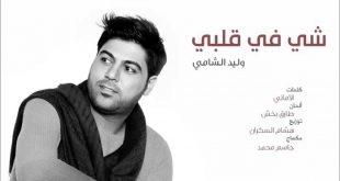 صور كلمات شي في قلبي , اغنية وليد الشامى شي في قلبي