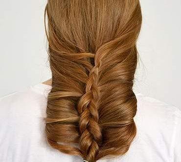 صور ضفيرة شعر طويل , احلى واجمل اشكال الضفيرة للشعر الطويل الناعم