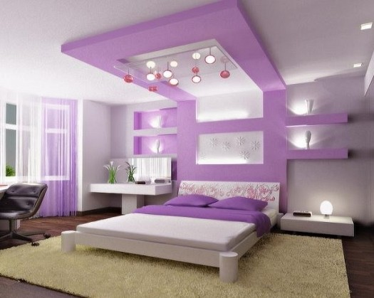 صورة الوان حوائط غرف النوم , اروع واجمل الوان للحوائط