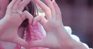 صور صور بنات قلب , اروع اشكال للقلوب على يد البنات