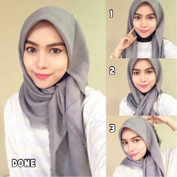 صور طرق لف الحجاب بالفيديو'طريقة لف الحجابات بالفيديوهات