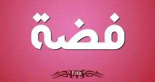 صورة معنى اسم فضه , المعاني التي يتميز بها اسم فضه