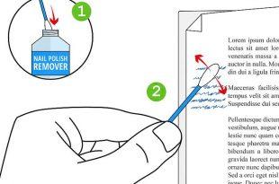 صورة كيفية ازالة الحبر من الورق , افضل الطرق لازاله الحبر
