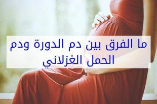 صورة الفرق بين دم الدورة ودم الحمل بالصور , ماذا تعرف عن دم الدورة و دم الحمل