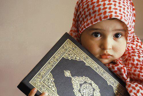 صورة صور اطفال دينيه , التزام الطفل بالزي الاسلامي منذ الصغر