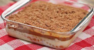 صورة طريقة عمل حلويات بسيطة في المنزل , حلى البسكويت بالنسكافيه فى بيتك