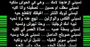 صورة قصيده غزليه, شعر بعنوان كل السنين ياحبيبي