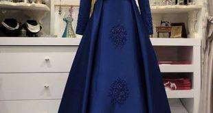 صورة فساتين سواريه للمحجبات 2019, كيف تختاري فستان للجسم المحجابات