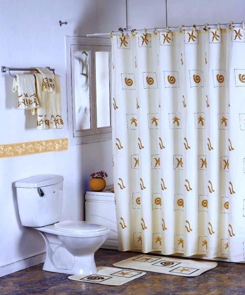 صورة ستائر حمامات, أروع تصاميم لستائر الحمامات 3321 3