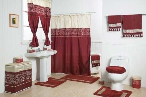 صورة ستائر حمامات, أروع تصاميم لستائر الحمامات 3321 4