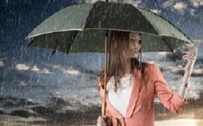 صورة شعر عن المطر,تحت زخات المطر دموع