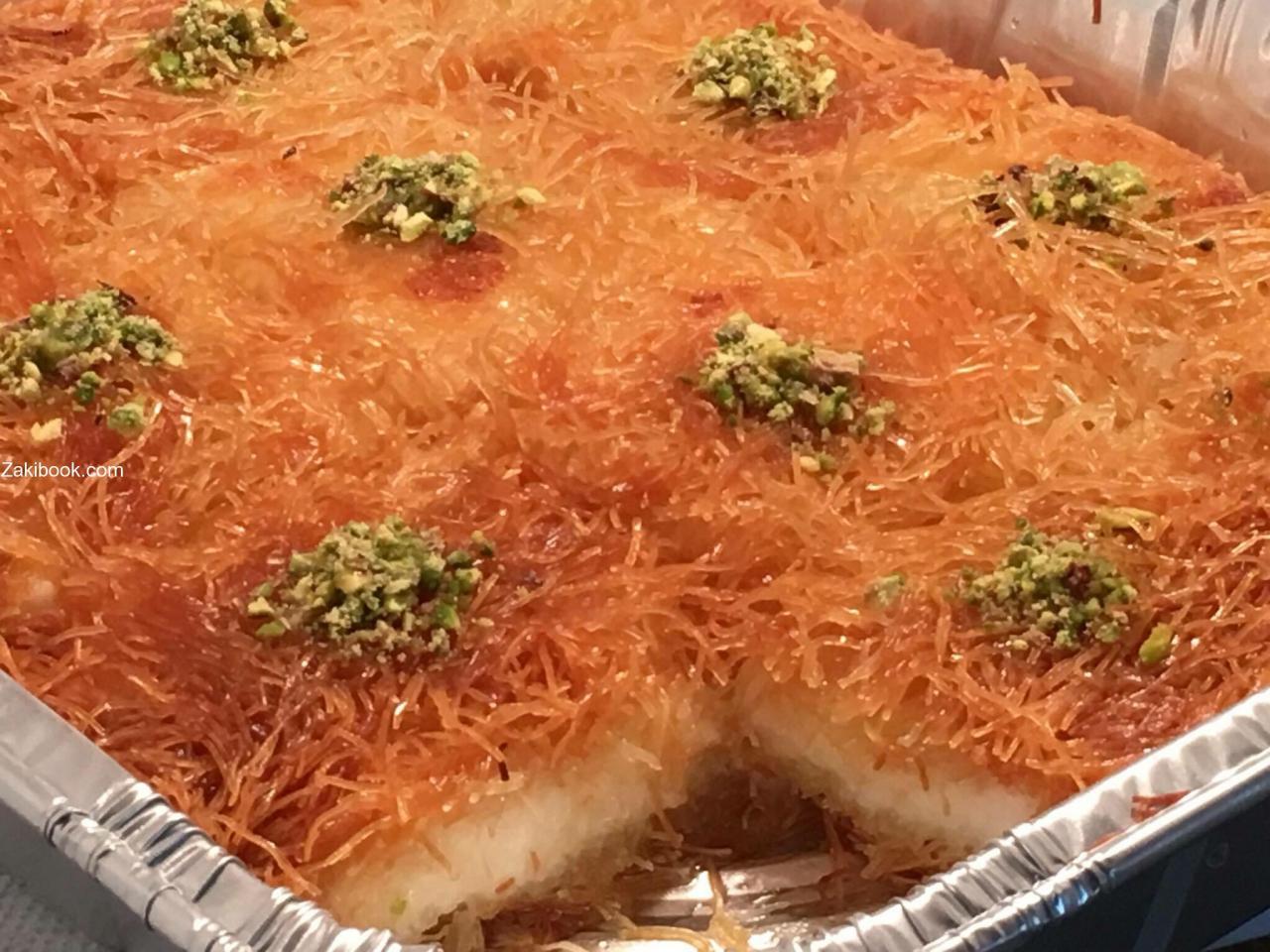 صورة حلويات رمضان، طريقه عمل بلح الشام الاصلي