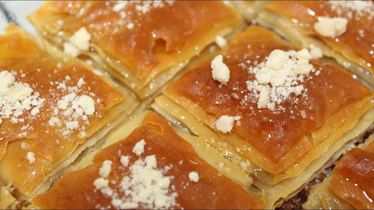 صورة حلويات رمضان، طريقه عمل بلح الشام الاصلي 3435