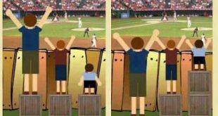 صورة وجود العدل والمساواه , الفرق بين العدل والمساواة