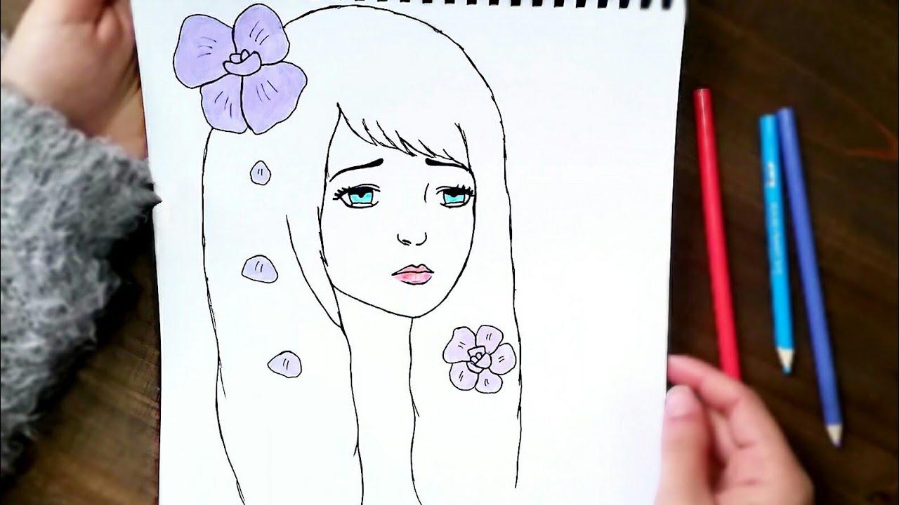 تعليم رسم بنات للاطفال لم يسبق له مثيل الصور Tier3 Xyz