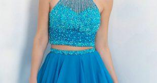 صورة أجمل الفساتين القصيرة , فساتين قصيرة للمراهقات