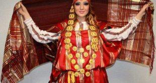 فوطة وبلوزة تونسية تقليدية